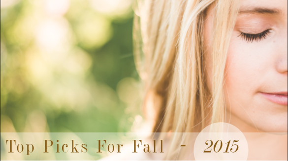 Top  Makeup Picks For Fall 2015